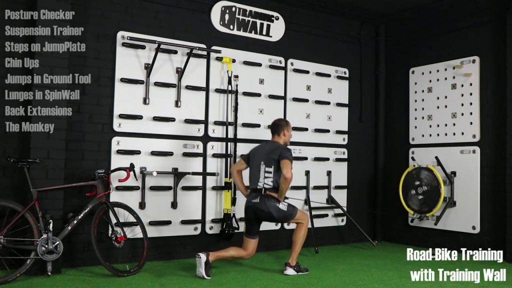 Entrenamiento funcional para ciclistas con Training Wall